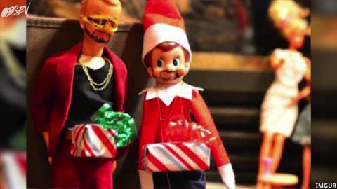 Best Most Twisted Elf on the Shelf Holiday Ideas