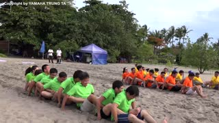 Yamaha Bali Team -  Team Building Game in Bali Indonesia - Video