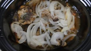Slow cooker Balsamic chicken - Video