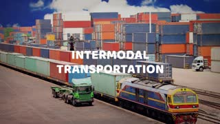 Intermodal transportation -Ontario Container Transport - Video
