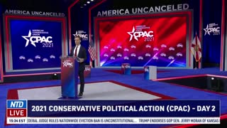 'I'm Going to Stand Up for You': Sen. Josh Hawley at 2021 CPAC Sen. Josh Hawley at 2021 CPAC