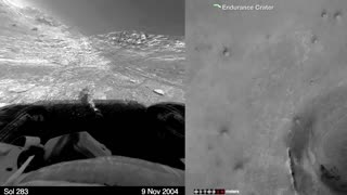 NASA releases time-lapse of Mars rover's 11-year marathon - Video