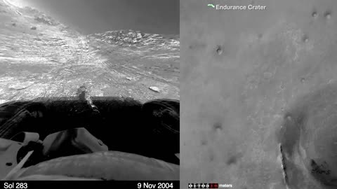 NASA releases time-lapse of Mars rover's 11-year marathon