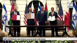 UAE and Bahrain sign historic peace deals with Israel at the White House