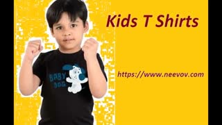 Fuchsia Colour Kids Cotton Graphic Tee Shirts - Video