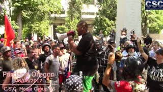 Tiny Tusitala Toese Gives A Short Impassioned Speech About The Pissed Off Right - Video
