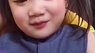 3-year-old baby singing super draft