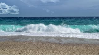 Video of pictures of the beach