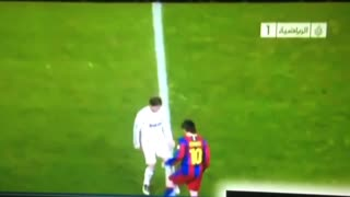 Messi humilla a Ramos - Video