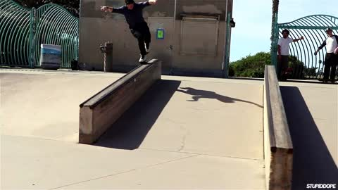 A 30min Shred Session with Jon Fromm at San Diego's Robb Field Skatepark | Video