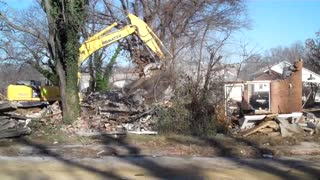 Housing Project Demolition