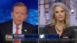 Lou Dobbs Warns Kelllyanne Conway That Base Can Turn On Trump: 'What He Promised Was a Wall' - Video