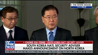 Kim Jong Un Ready to Meet With Trump, Talk Denuclearization, South Korean Official Says - Video