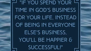 Spend Your Time In Your Business