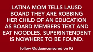 As Concerned California Mother Blast School Board, They Seemed Unfased