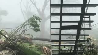 Hurricane Irma Leaves Destruction After Passing Over British Virgin Islands - Video