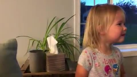 Alexa Misunderstands This Little Girl's Song Request...so funny!