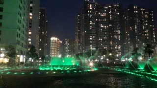 Water Music in time city Viet Nam  - Video