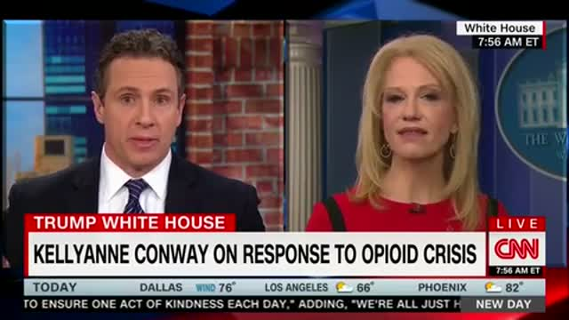 CNNs Chris Cuomo Challenges Kellyanne Conway About Trumps Drug Pusher Death Penalty