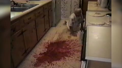 Grandma Faceplants In Her Own Jello After Dropping Entire Bowl On Floor