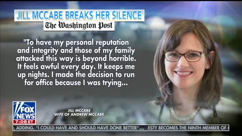 'Fox & Friends' Attacks Andrew McCabe's Wife Over Anti-Trump Op-Ed