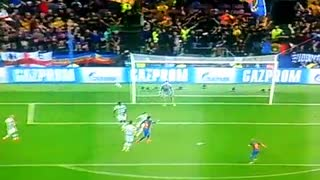 VIDEO: Iniesta with a volley goal vs Celtic 4-0 - Video