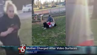 Mom Cheered on Teen Daughter During Fight With Fellow Student - Video