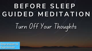Guided sleep meditation for relaxation