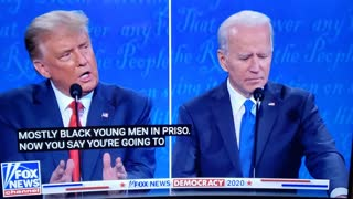 Did Biden just freeze mid sentence???