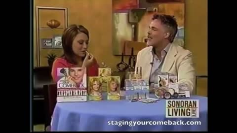 Staging Your Comeback, A Complete Beauty Revival for Women Over 45! Book Tour, 2008.