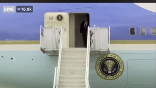 POTUS: Wheels down 🛬 Nothing Can Stop What is Coming