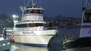 Deep Sea Fishing Boat Docking - Video