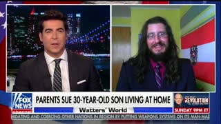 Jesse Watters' Trainwreck Interview with Millennial Evicted by Parents - Video
