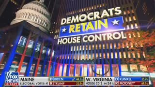 Fox News Calls the Control of the House of Representatives