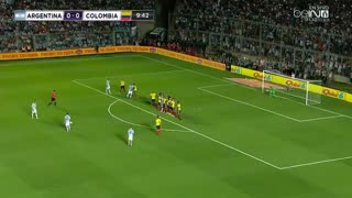 Messi Against Colombia - Video