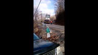 Truck with a Transformer - Video