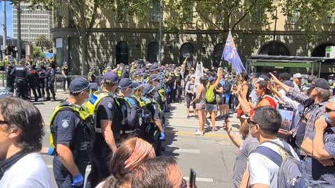 Victoria Police Thuggery