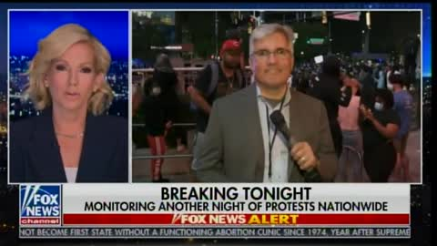 Fox News reporter says no police, Nat'l Guard to be seen in Minneapolis