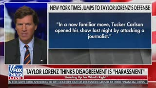Tucker Carlson Fires Back At New York Times Over Taylor Lorenz Controversy