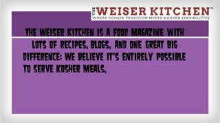 kosher recipe blog - Video