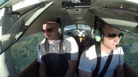Big Fart in a Tiny Airplane
