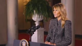 First Lady Melania Trump Releases Farewell Message