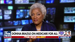Donna Brazile and Sean Hannity spar over Medicare for All