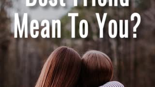 Best Friend - Video