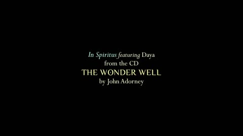 """The Wonder Well"" - Music by John Adorney featuring Daya"