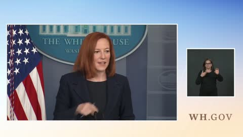 Psaki Dodges Question On Gayle Manchin Appointment