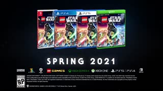 LEGO Star Wars The Skywalker Saga Gameplay Trailer gamescom 2020