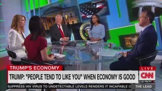 Jake Tapper suggests Trump deserves credit for the economy