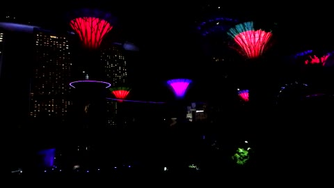 This Singapore Light Show Will Blow Your Mind