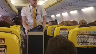 Dancing Flight Attendant - Video